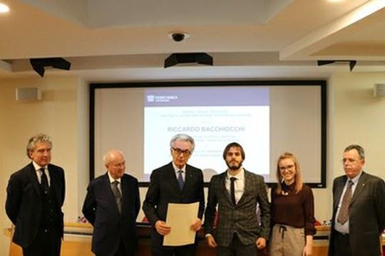 """Federchimica premia un dottorando del Dipartimento di Chimica industriale """"Toso Montanari"""""""