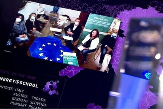 Il progetto Interreg Energy@School premiato ai REGIOSTARS Awards
